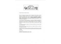 OVINOS -  MEDIDA PROVISÓRIA BASEADA NA RESOLUÇÃO TÉCNICA 01/2020  APROVADA PELO MAPA 10/07/20