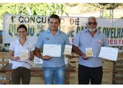 GANHADORES DO I CONCURSO DE QUEIJO DE LEITE DE CABRA E OVELHA DA REGIÃO SUDESTE CABRAFEST2019