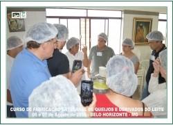 CURSO DE FABRICAÇÃO ARTESANAL DE QUEIJOS E DERIVADOS DO LEITE 06 e 07/08/2016