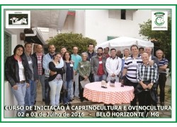Curso de Iniciação &agraveCaprinocultura e Ovinocultura 02 e 03/07/2016