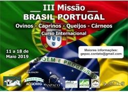 III MISSÃO BRASIL - PORTUGAL 11 A 18/05/2019
