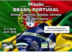 MISSÃO BRASIL - PORTUGAL 21 a 28 de abril de 2018 PARTICIPE!