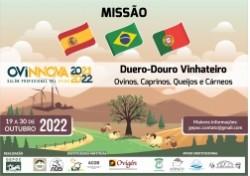Missão BRASIL-ESPANHA-PORTUGAL com Feira OVINNOVA  19 a 30/10/22