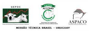V MISSÃO BRASIL – URUGUAY OVINOS 31 de março a 04 de abril de 2014
