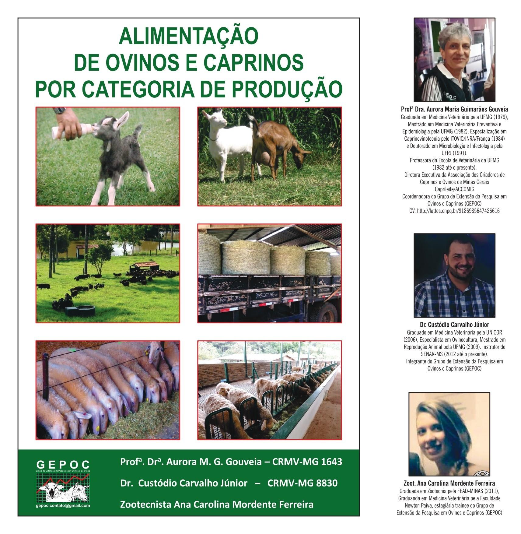 Apostila Alimentação de Ovinos e Caprinos por Categoria de Produção